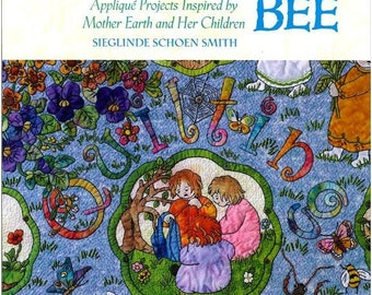 Breckling Press Mother Earth's Quilting Bee Book Applique Quilt Patterns Instructions