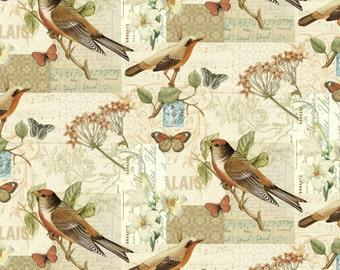 OAK AVENUE Scenic - by the YARD - Cotton Fabric