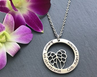 Personalised Pet Loss Necklace - Pet Loss Gift - Memorial Jewellery - Pet Memorial Jewellery - Pet Loss Jewellery - Pet Remembrance