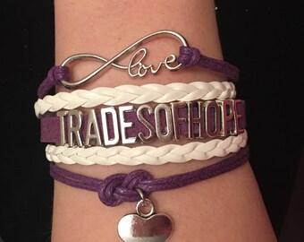 Trades of Hope Infinity Bracelet