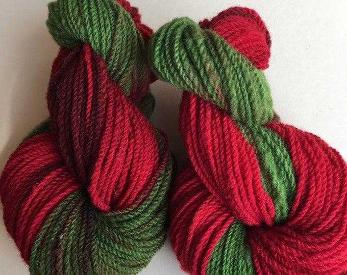 Christmas Tunis Yarn