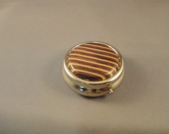 Mini Pill Box - Purse - Laminated Wood