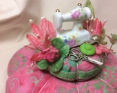 Sewing Machine Pincushion Pin Keep