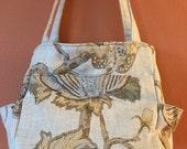 Katrina #1764,  Knitting Bag, Knitting Tote, Project Bag, Project Tote, Project Knitting Bag, Expandable Bag, Self Standing Tote, Bags, Tote