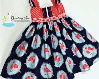 Gooseberry Lane Originals  Berry Tweet Dress