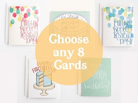 Birthday Card Set Bulk Birthday Cards Boxed Birthday Cards – Birthday Card Sets