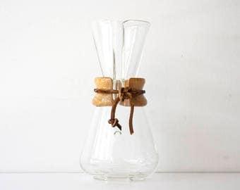 Vintage Modern Chemex Coffee Maker - 3 Cup