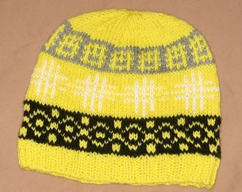 Wool Hat: Mostly Sunny