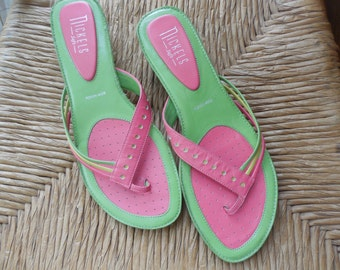 Sweet Spring  Leather Sandals