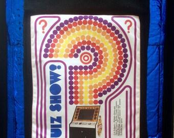 Vintage Arcade Game Print Tablet Sleeve
