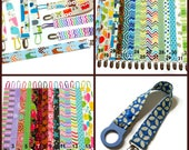 Paci Clips, You Pick 2, Fabric Pacifier Clip, You Choose Your Fabric, Girl and Boy Paci Clip, Binky Clip, Soother Clip, Baby Shower Gift