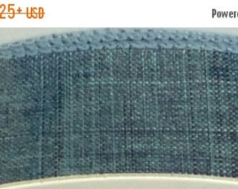 "20% OFF 1.5""  Denim Blue Denim Ribbon, 5 Yards or 10 Yard Lengths Available, Deco Mesh Supplies"