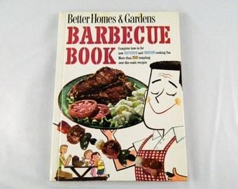 Vintage Better Homes & Gardens Barbecue Book 1959 Retro Mid Century Picnic