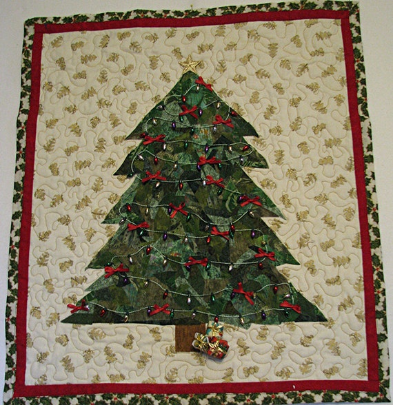 Art quilts for sale christmas quilt quilted