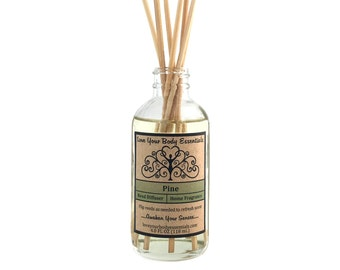 Pine reed diffuser - pine diffuser oil - reed diffuser refill - natural diffuser - natural air freshener - pine scent -home fragrance