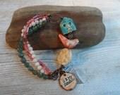 Multi strand bracelet You R My Sunshine