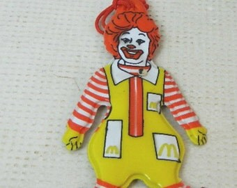 Vintage Collectible Ronald McDonald Ornament 1970