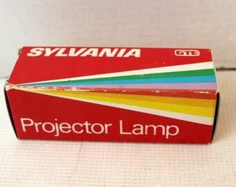 Vintage sylvania projector light