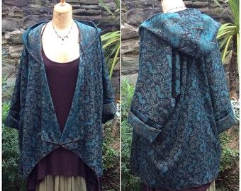 Artisan Jacket, Paisley Hooded Pixie Jacket