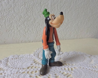 Disney Production Goofy Action Figure with soft head.  Made in Hong Kong. Hard to Find.