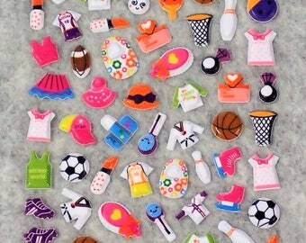 Mixed Cute Clothing Stickers
