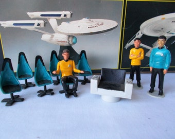 Vintage Star Trek Model Figures