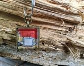 Coffee Keychain Stocking Stuffer