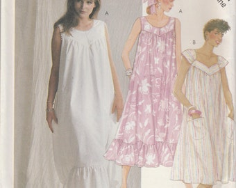 Dress Pattern Sleeveless Pullover Misses Medium Size 14 - 16 Uncut McCalls 3155
