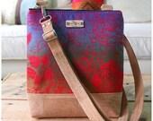 La Natalia Bag - Cross body bag -Hawaiian bag - Classic bag - ethnic handbag - Cork Bag - Travel bag -