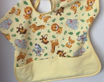 Reversible Toddler Bib