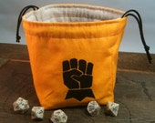 Custom Fist/Eagle Dice Bag with Pockets