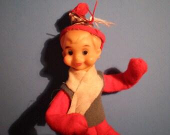 Vintage Mid Century Christmas Decoration - Elf