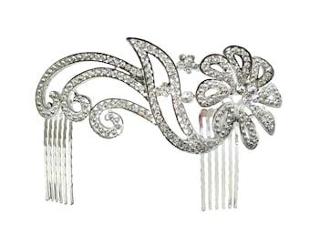 Unik Occasions Rhinestone Bridal Hair Comb - Style 15