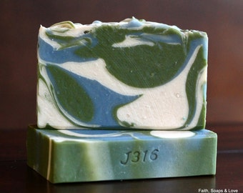 Mermaid Kisses Handcrafted Soap - Made in Minnesota - Christian Bible Study Gift