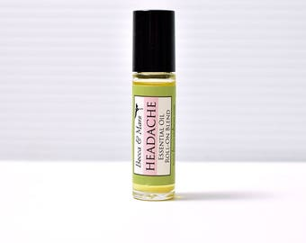 Headache Essential Oil Roll-On Blend