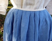 Ladies petticoat, skirt, colonial, 18th century, linen, custom made