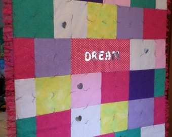 Princess Dream Quilt and PIllowcase