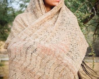 Nettle Shawl ~ From Himalayan Nettle ~