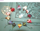 Shop Closing 50% OFF WHOLESALE LOT I of 12 Button Christmas Tree Ornament - Proceeds Benefit Cancer Research