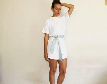 White t shirt // unisex tee //