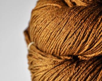 Camel gone wild - Merino/Silk Fingering Yarn Superwash