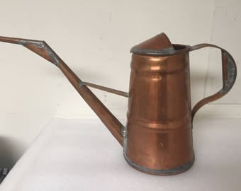 Vintage Copper Watering Can by Eckert