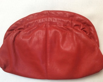 Brio Valentine Red clutch bag/ purse
