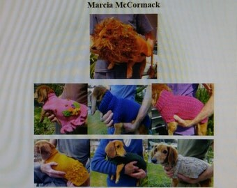 PDF Download for Ten Adorable Knitting Patterns for Your Miniature Dachshund