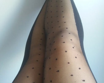 Black Tights Skinheadgirl stockings lace pantyhose suededead