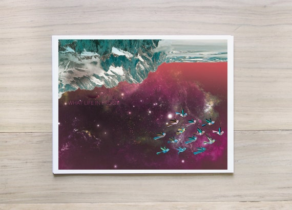 """Inkjet Print: """"infinity no.2 - what life in front"""" - 8.5 x 11"""