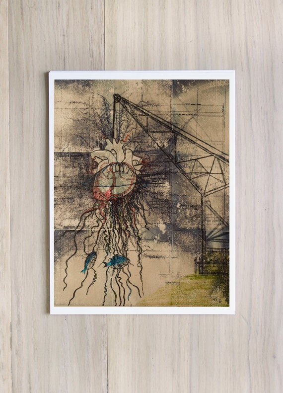 """Inkjet Print: """"3.0 the natural order"""" - 8.5 x 11 LIMITED EDITION out of 10"""