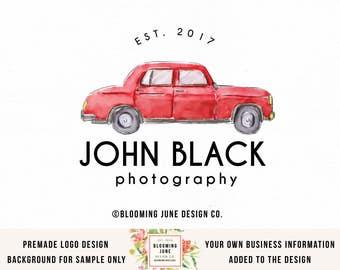 male photographer logo photography logo car logo retro car logo premade logo automobile logo car repair logo car shop logo