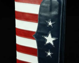 Leather Journal, American Flag:  Old Glory Journal