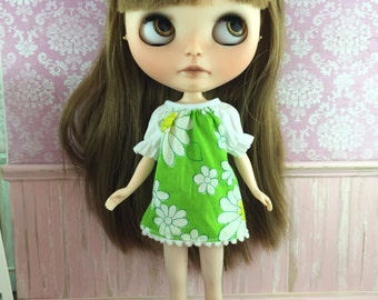 Blythe Smock Dress - Vintage Daisies
